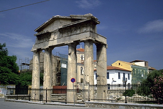 The Ancient City of Athens: Roman Agora & Tower of the ...